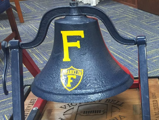 The Victory Bell has been Franklin property lately.