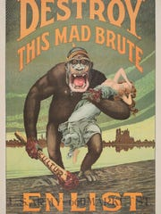 This 1917 recruitment work by Harry Ryle Hopps (1869–1937),
