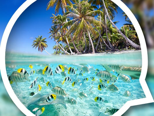 Ever dreamt of going to Tahiti?  Here's your chance to win a trip for 2 to Tahiti. Flight included. Enter 8/8-8/25.