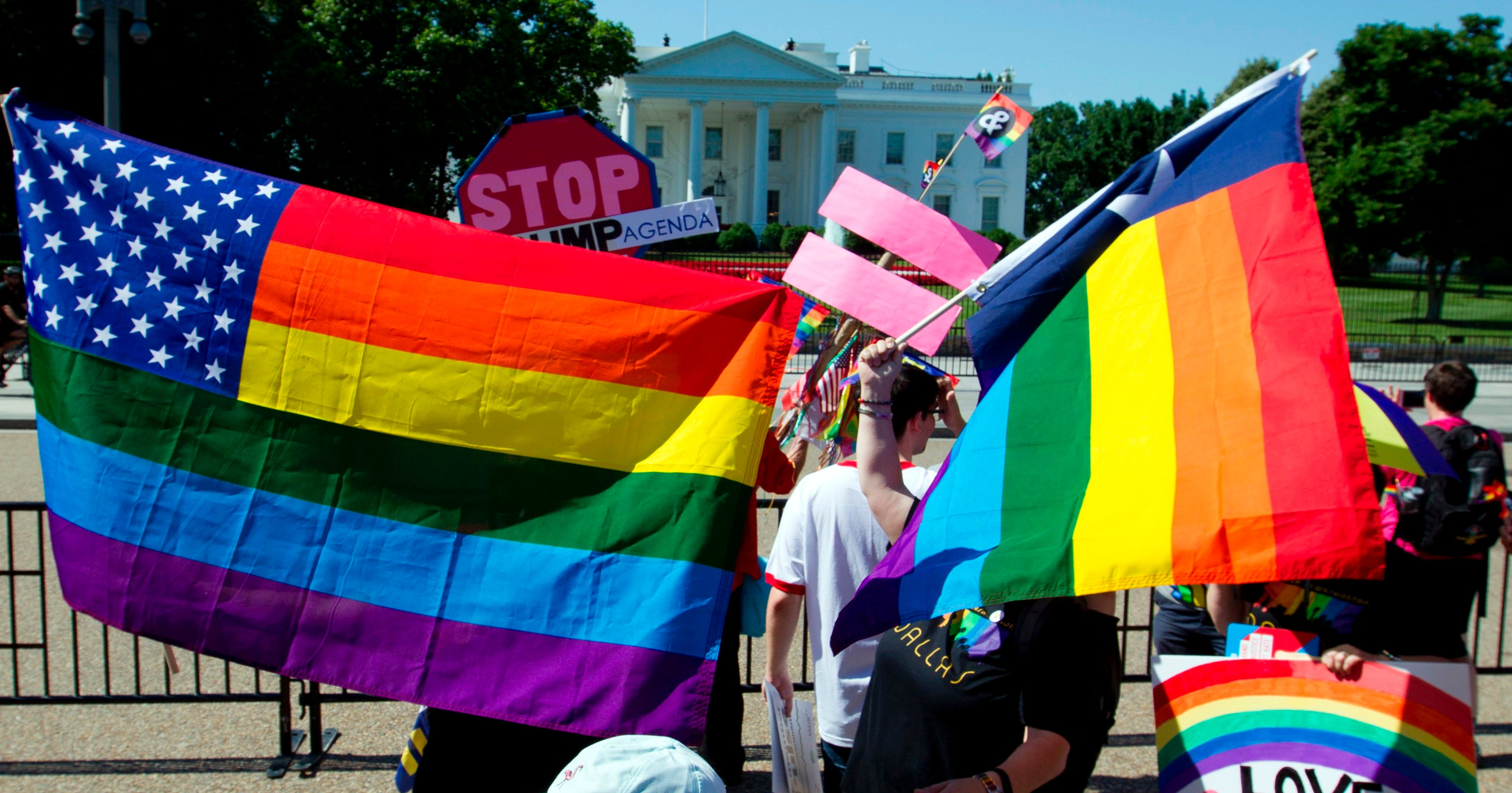 Americans less accepting of LGBT people in 2017