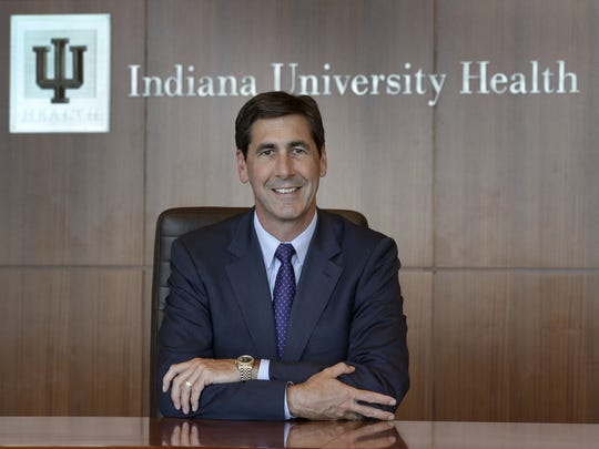IU Health CEO Dennis Murphy joined IU Health in 2013 as chief operating officer.