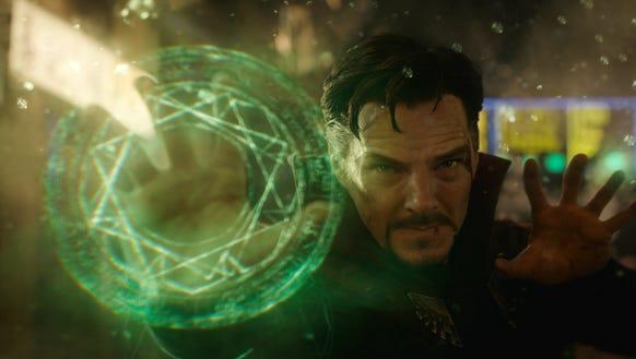 Benedict Cumberbatch brought magic to the Marvel world