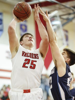 Valders senior Luke Goedeke was a unanimous choice to the all-Eastern Wisconsin Conference first team.