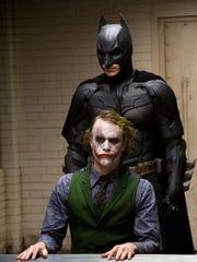 Christian Bale's Batman and Heath Ledger don't agree