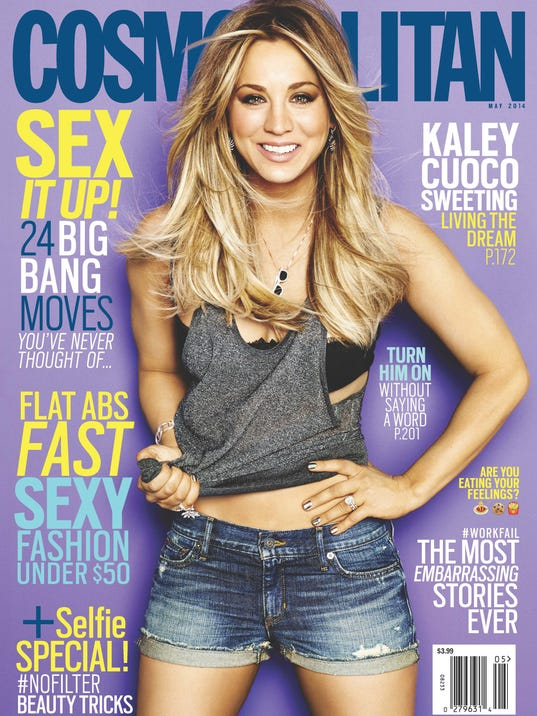 Cosmo May '14 Cover Kaley Cuoco