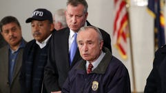 New York City Police Commissioner William Bratton is