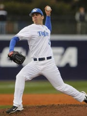 Sam Moll during his days at the University of Memphis