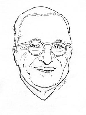 Harry Truman circa 1950