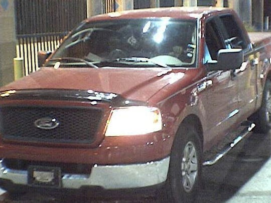 Villegas-Hernandez is believed to be driving a red, four-door Ford pickup with N.M. license place KJS479.