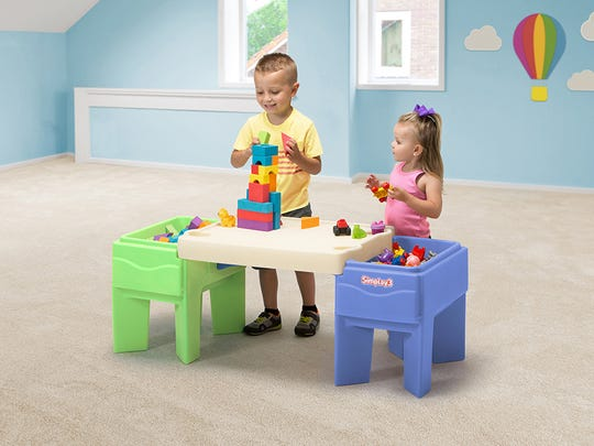 These 45 toys and products have earned the NAPPA seal of approval in 2017. Pictured is the In & Out Activity Table.