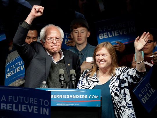 The Sanders in Louisville on May 3, 2016.