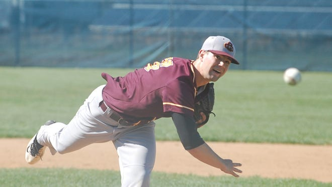 Gloucester Catholic senior right-hander Tyler Mondile struck out five and scattered eight hits in Sunday's win over St. Augustine.