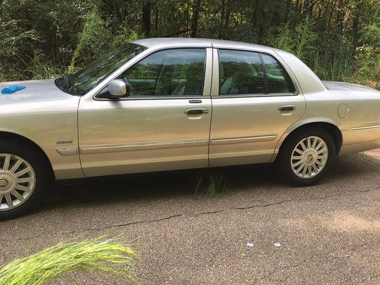 A body was found in this Mercy Grand Marquis.