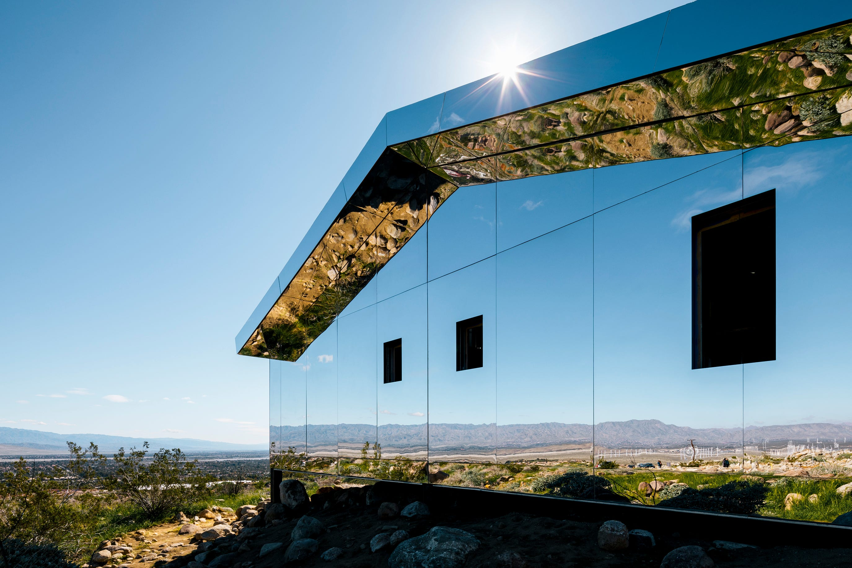 here s why desert x mirror house in palm springs will be torn down rh desertsun com mirror house palm springs ca mirror house palm springs address
