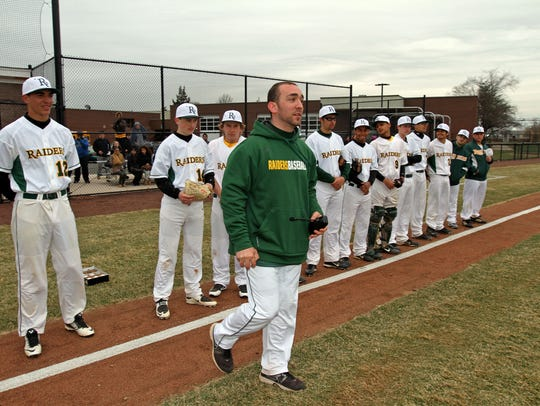 Former Piscataway Tech skipper Nick McKee is now the head coach across town at Piscataway
