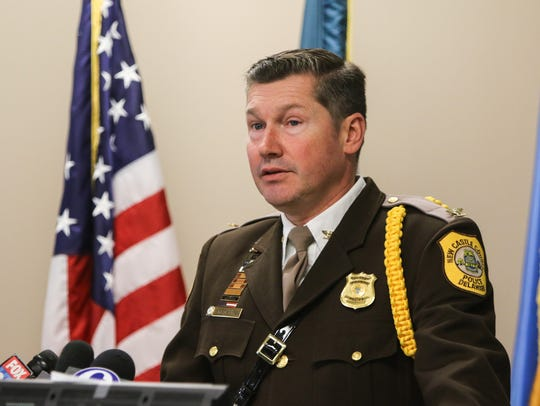 New Castle County Chief of Police Colonel Elmer M.