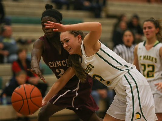 st marks concord girls bball