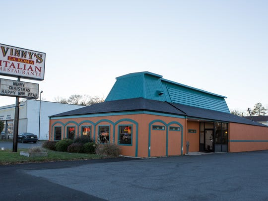 An exterior view of Vinny's La Roma on South Salisbury