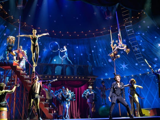 """The national touring production of """"Pippin"""" includes an impressive cast and acrobatics."""
