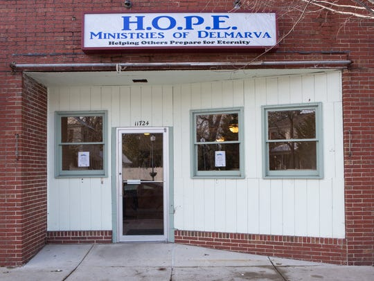 An exterior view of HOPE Ministries' new feeding center