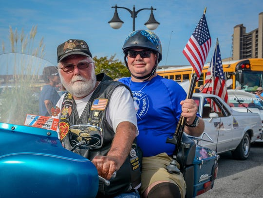 Operation SEAs the Day in Bethany Beach, members of