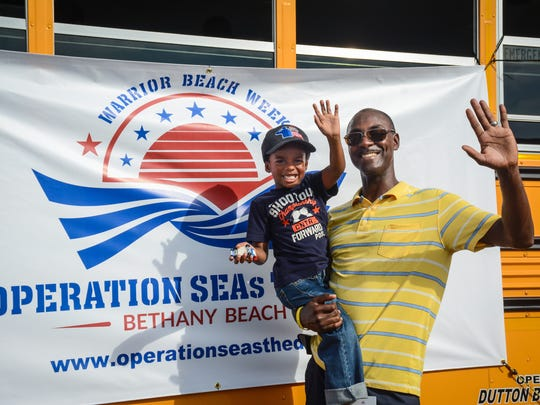 At Operation SEAs the Day in Bethany Beach, members