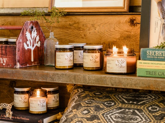Joshua Tree Candle Co. at popular Airbnb Casa de Agave in Joshua Tree