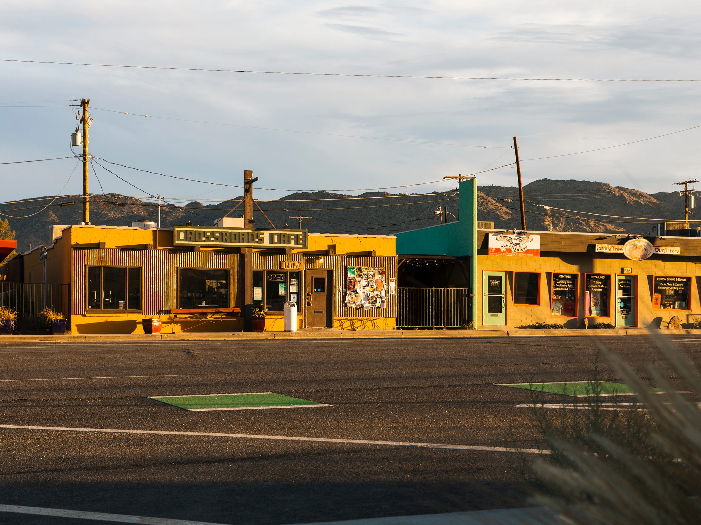 Crossroads Cafe in downtown Joshua Tree