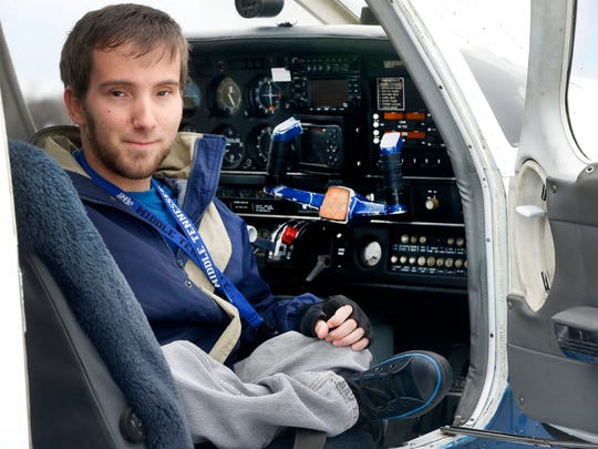 Chris Rasmussen is currently taking flying lessons. The instructor Jared Ver Mulm is trying to raise money to purchase equipment to allow Rasmussen, who was born with spina bifida, to have full control of the plane during his lessons.