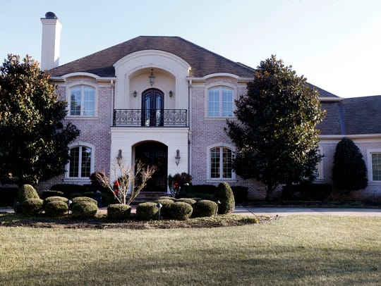 The home at 1423 Avellino Circle in Murfreesboro, was