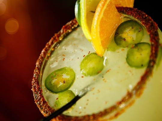 The Jalapeno Margarita at El Fogon on Thursday, July