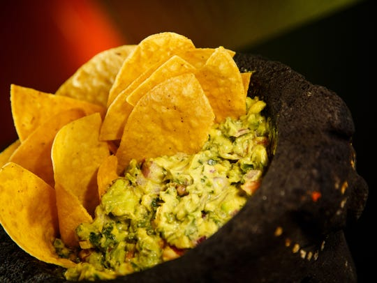 Guacamole on Stone at El Fogon on Thursday, July 5,