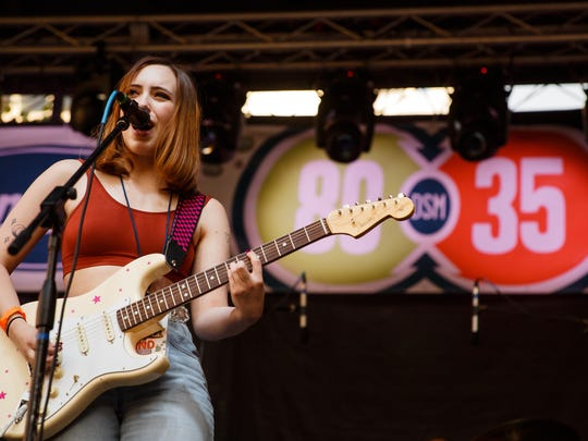 Soccer Mommy will play Musician's Corner on Saturday, June 22.