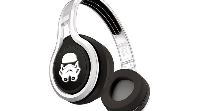The Stormtrooper edition is one of four SMS Street by 50 headphone designs with a Star Wars theme.