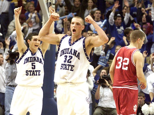 FILE -- Matt Renn of Indiana State (32).