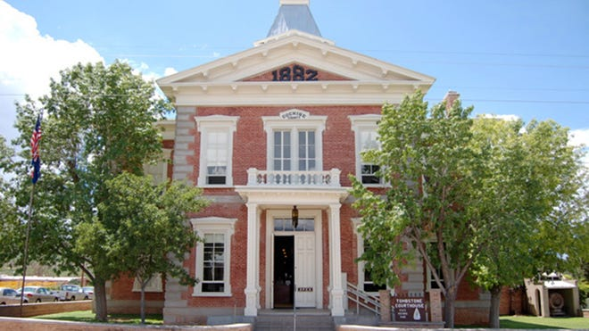 Tombstone Courthouse once housed the office of Old West lawman John Slaughter.