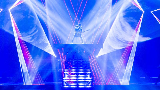 Trans-Siberian Orchestra will take its holiday-themed rock opera to the Don Haskins Center for two performances Dec. 6.