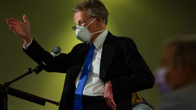 Michael Madigan, pictured on July 15, has said he will not testifiy in an upcoming House Special Investigating Committee hearing.