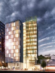 The Framework building planned for Portland's Pearl District  is among the scheduled construction projects that plans to use innovative forest products developed in recent years through research at Oregon State University.