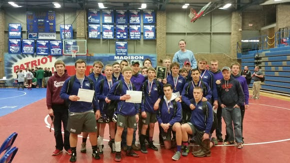 Mitchell won Friday's Western Highlands Conference wrestling tournament at Madison.