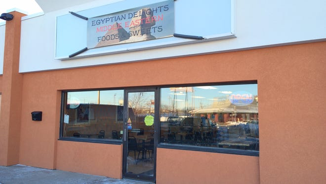 Egyptian Delights opened on W. College Ave. in Appleton.
