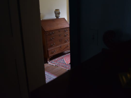 As tour guests walked through this doorway they heard a mysterious voice tell them not to go upstairs, according to Mike DiPaolo.