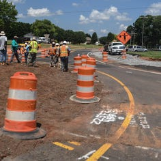 Anderson County's first roundabout gets mixed reviews