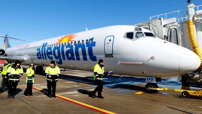 Allegiant Air is scheduled to start new flights to Las Vegas from CVG on Thursday.