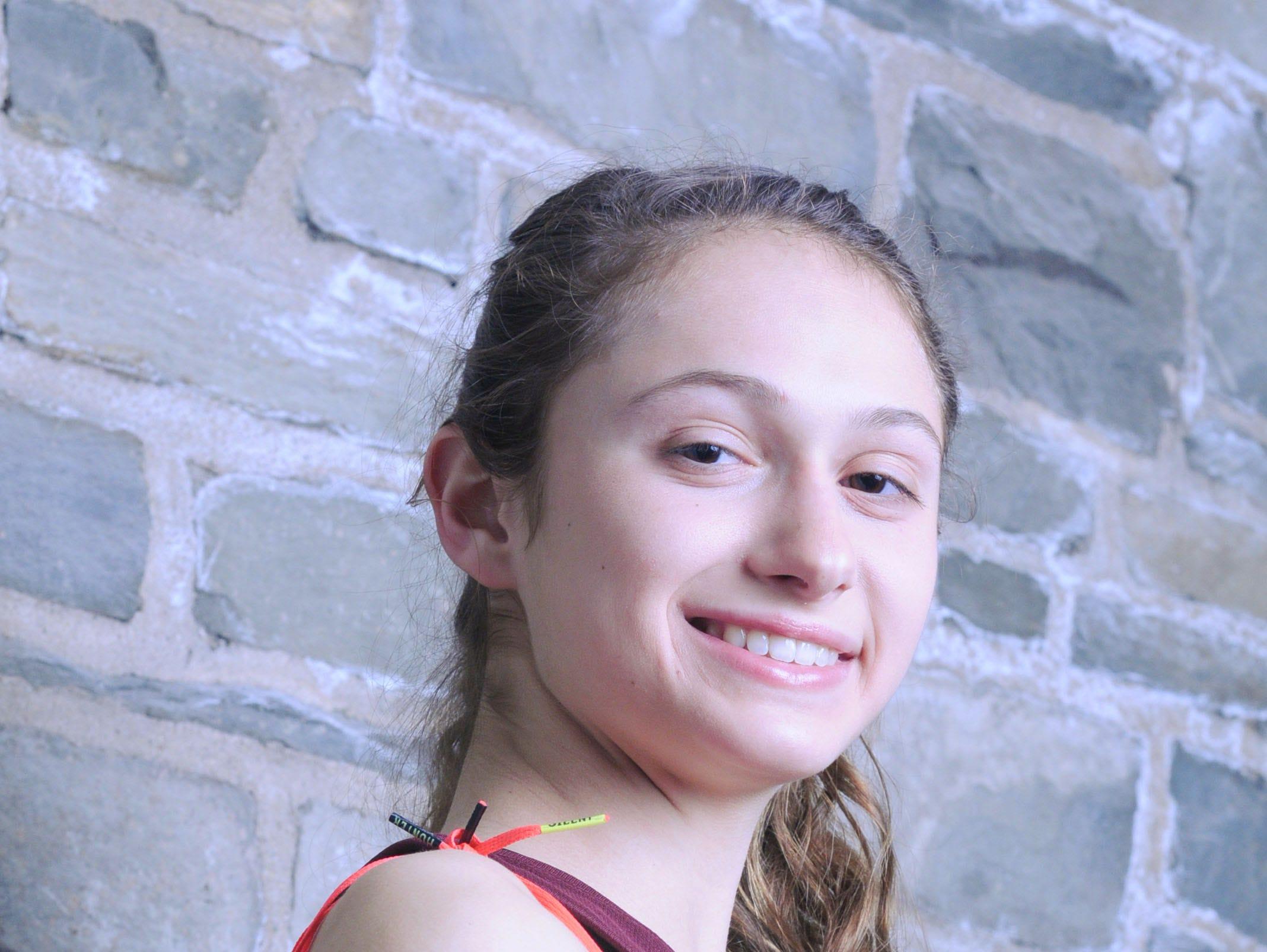 Girls Track and Field Athlete of the Year Bella Burda of Arlington High School.