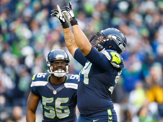 Seattle Seahawks defensive tackle Kevin Williams (94)