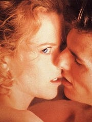"""""""Eyes Wide Shut,"""" starring real-life couple Nicole Kidman and Tom Cruise, raised some eyebrows."""