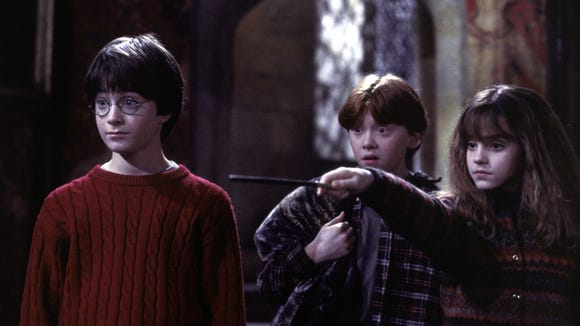 A scene from 'Harry Potter and the Sorcerer's Stone.'
