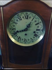 This special clock chimed the quarter-hour in Janna Anderson's grandparents' home for nearly 60 years, and now she treasures this family heirloom.