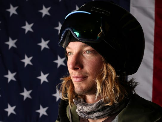 United States Olympic Winter Games halfpipe skier David